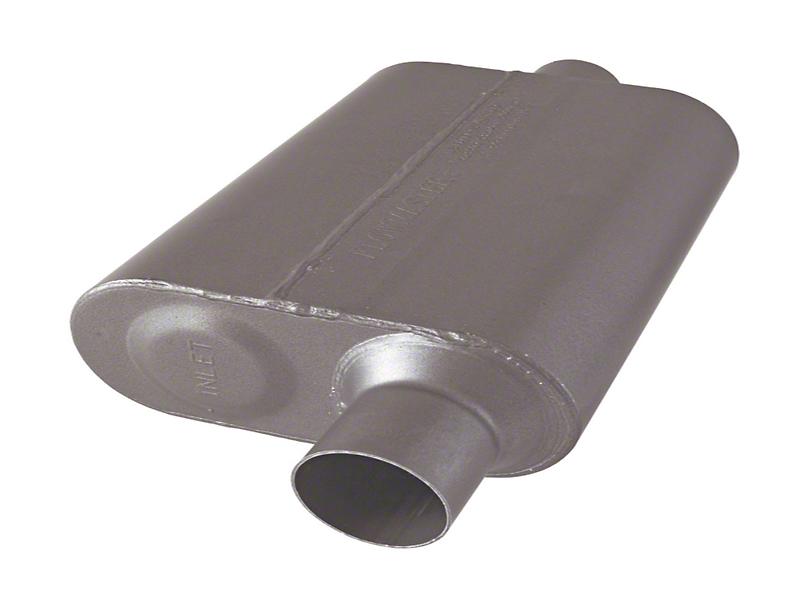Flowmaster Original 40 Series 2.5 in. Muffler - Stainless Steel (07-18 Wrangler JK)