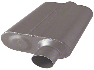 Flowmaster Original 40 Series 2.5 in. Muffler - Stainless Steel (07-18 Wrangler JK)