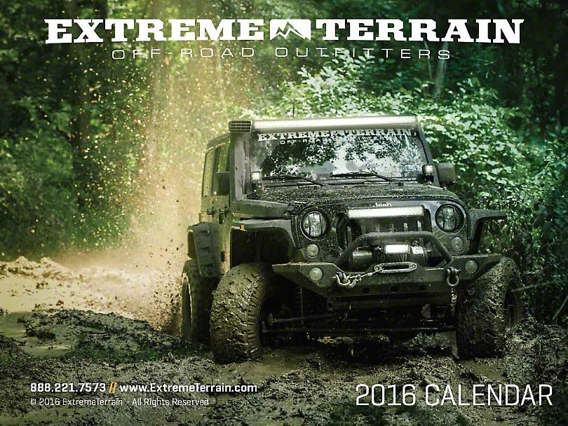 XT 2016 Calendar