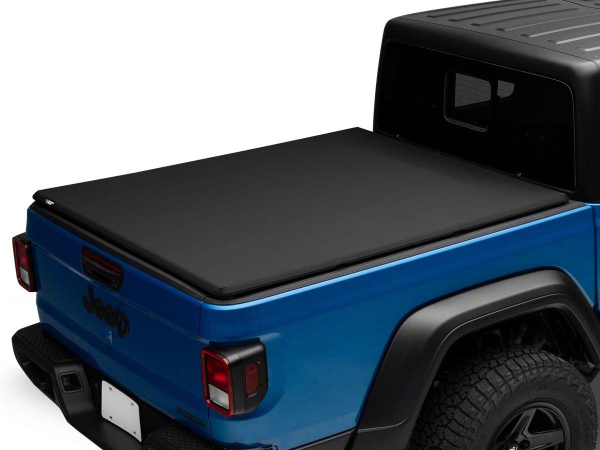 Rugged Ridge Jeep Gladiator Armis Soft Folding Tonneau Cover 13550 21 20 21 Jeep Gladiator Jt