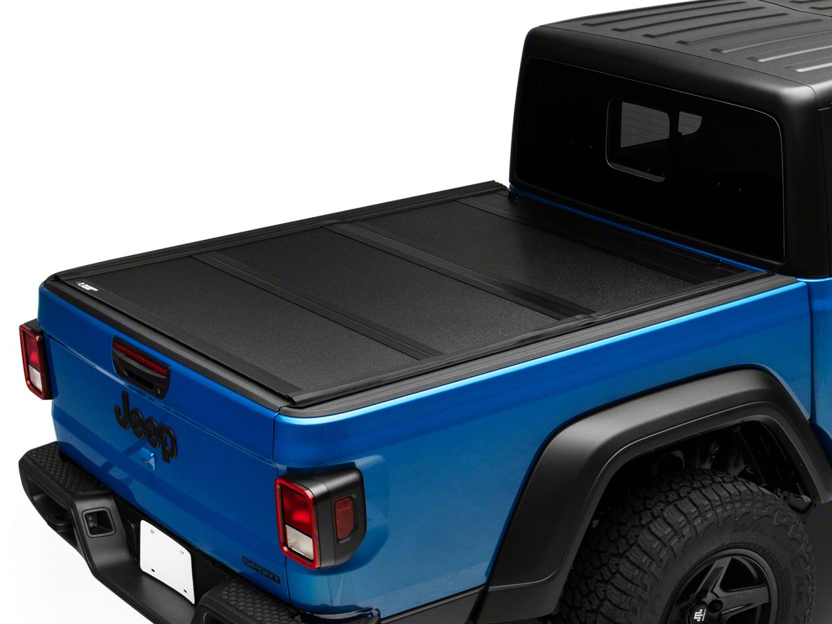 Rugged Ridge Jeep Gladiator Armis Hard Folding Tonneau Cover 13550 24 20 21 Jeep Gladiator Jt