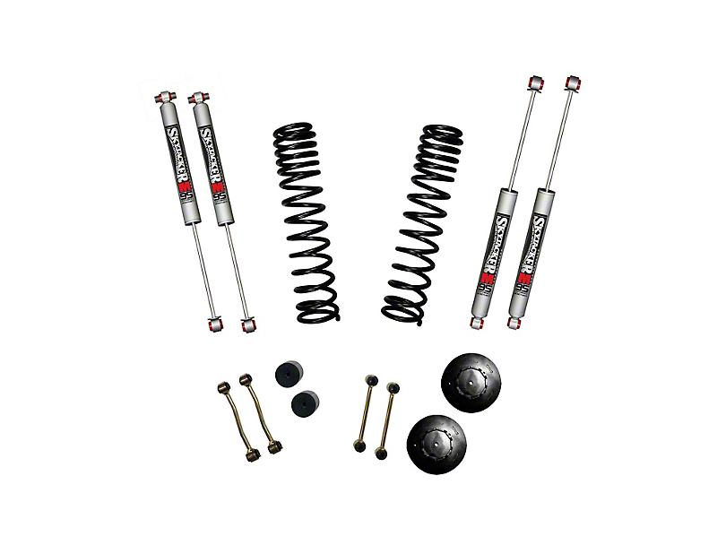 SkyJacker 2.50-Inch Dual Rate Long Travel Suspension Lift Kit with 1-Inch Rear Coil Spacers and M95 Performance Shocks (2020 Jeep Gladiator JT Launch Edition, Rubicon)