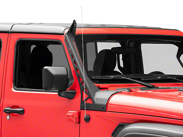 Fishbone Offroad 52-Inch LED Light Bar Windshield Mounting Brackets (20-21 Jeep Gladiator JT, Excluding Mojave)