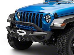 Barricade X-Series Front Bumper; Black Inserts (20-22 Jeep Gladiator JT)