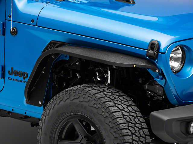 DV8 Offroad Flat Slim Front and Rear Fenders (20-21 Jeep Gladiator JT)