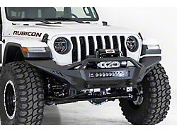 Addictive Desert Designs Stealth Fighter Winch Front Bumper with Top Hoop (20-22 Jeep Gladiator JT Launch Edition, Mojave & Rubicon)