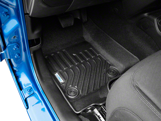TruShield Precision Molded Front Floor Liners; Black (20-21 Jeep Gladiator JT)