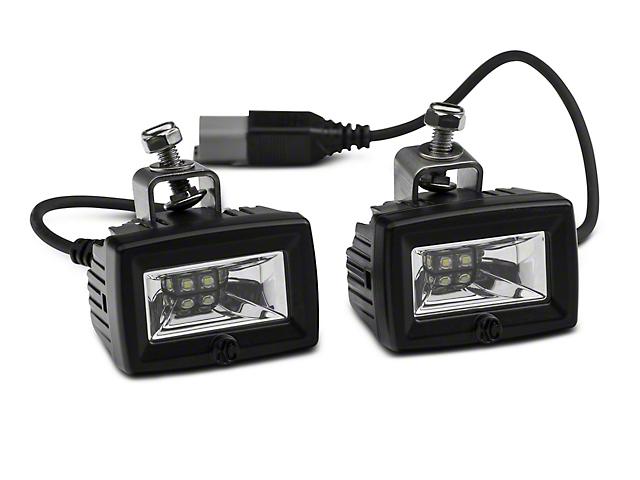 Deegan 38 Front Bumper LED Flood Lights (20-21 Jeep Gladiator JT)