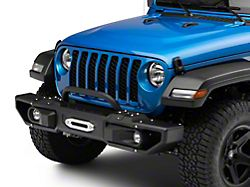 DV8 Offroad Modular Front Bumper with Bull Bar (20-21 Jeep Gladiator JT)