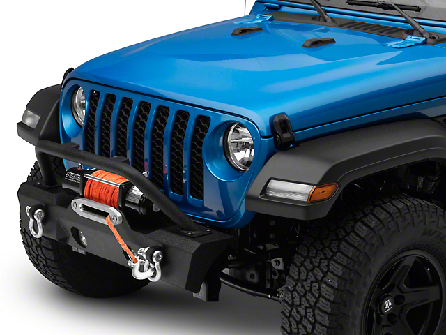 RedRock 4x4 Attack Stubby Winch Front Bumper (20-22 Jeep Gladiator JT)