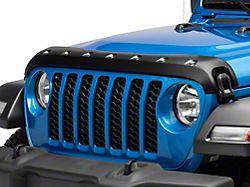 Premium Bolt-On Look Hood Deflector; Smooth (20-22 Jeep Gladiator JT)