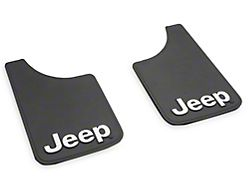 Mud Guards with Jeep Logo; Front or Rear (20-22 Jeep Gladiator JT)