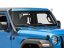 ZRoadz 50 to 52-Inch LED Light Bar and Two 3-Inch LED Light Cube Roof Level Mounting Brackets (20-22 Jeep Gladiator JT)