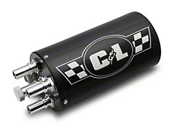 Proven Ground C&L Series Gen 2 Monster Oil Catch Can; Black (Universal; Some Adaptation May Be Required)