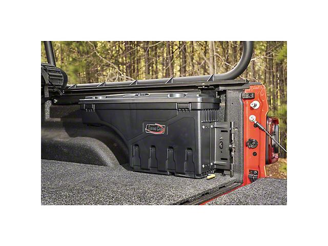 Rugged Ridge Armis Swing Case Storage; Passenger Side (20-21 Jeep Gladiator JT)