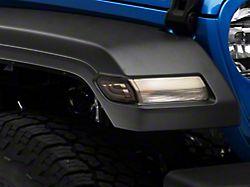 LED Side Marker Lights; Smoked (20-21 Jeep Gladiator JT)
