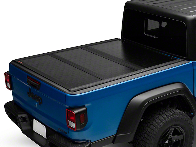 Rough Country Low Profile Hard Tri-Fold Tonneau Cover (20-21 Jeep Gladiator JT)