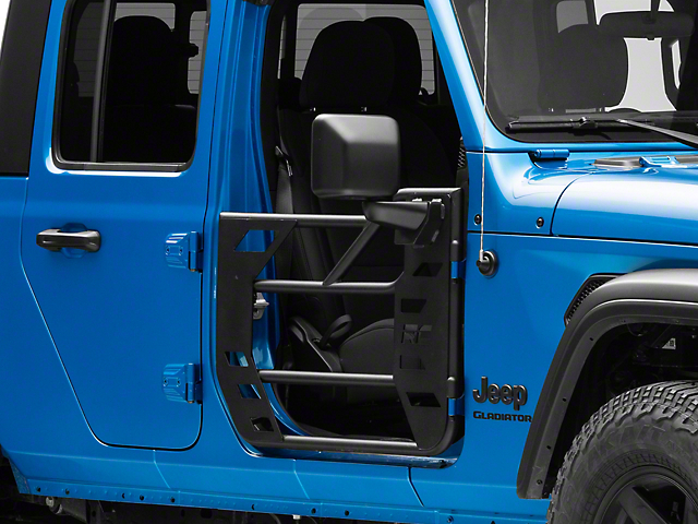 Rough Country Steel Tube Doors; Front and Rear (20-21 Jeep Gladiator JT)