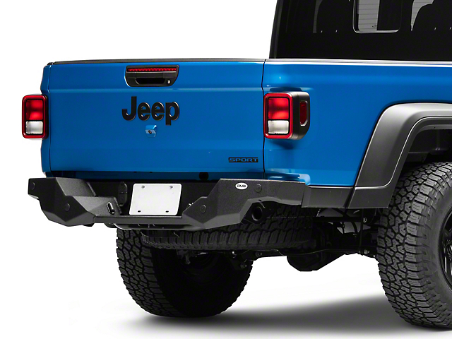 DV8 Offroad High Clearence Rear Bumper (2020 Jeep Gladiator JT)