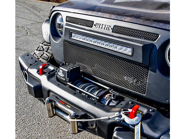 Max Winch Tray; Textured Black (18-20 Jeep Wrangler JL)