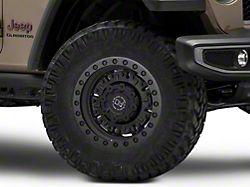 Black Rhino Abrams Textured Matte Gunmetal Wheel; 17x9.5 (20-22 Jeep Gladiator JT)