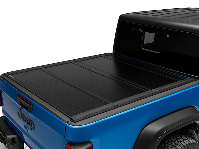 UnderCover Flex Tri-Fold Tonneau Cover; Black Textured (20-21 Jeep Gladiator JT)