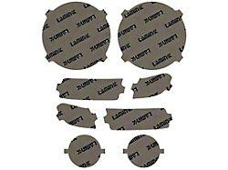 Lamin-X Headlight Tint Covers; Tinted (20-22 Jeep Gladiator JT Sport)