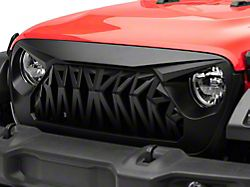 RedRock 4x4 Deep Woods Grille; Matte Black (20-22 Jeep Gladiator JT)