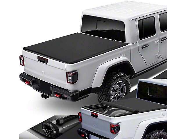 Roll-Up Tonneau Cover (20-21 Jeep Gladiator JT w/o Trail Rail System)