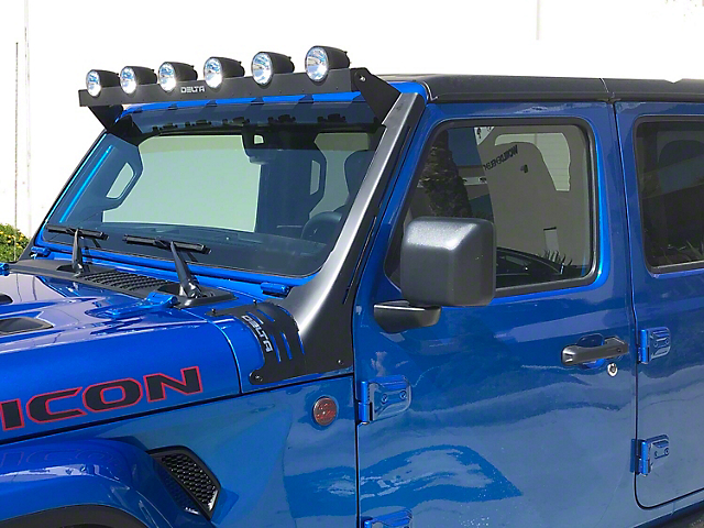 Delta 52-Inch Horizon Bullet Roof LED Light Bar (18-21 Jeep Wrangler JL)