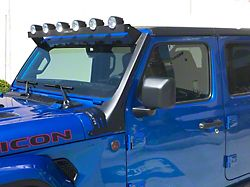 Delta 52-Inch Horizon Bullet Roof LED Light Bar (18-21 Jeep Wrangler JL, Excluding 4xe)