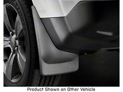 Weathertech No-Drill Mud Flaps; Rear; Black (20-22 Jeep Gladiator JT, Excluding Launch Edition, Mojave & Rubicon)