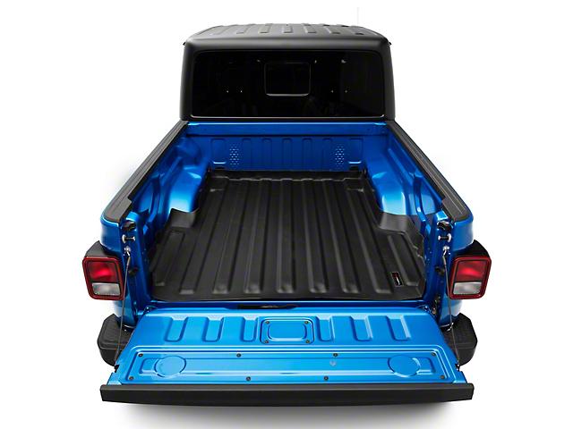 Weathertech TechLiner Bed Liner; Black (20-22 Jeep Gladiator JT)
