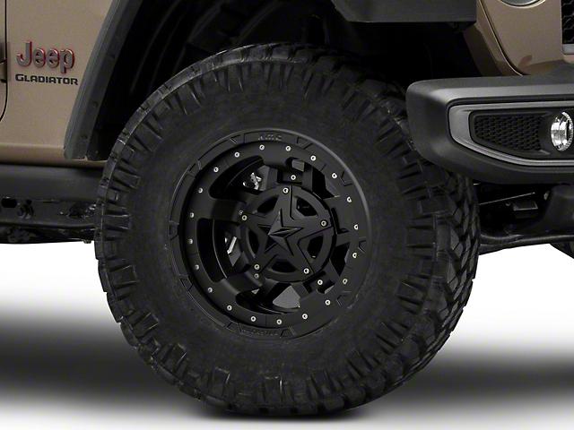 XD Rockstar III Matte Black Wheel; 17x9 (20-21 Jeep Gladiator JT)