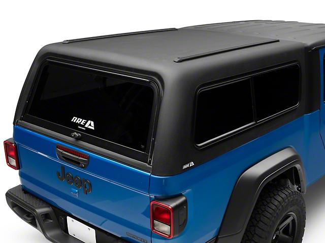 A.R.E. CX Classic Bed Cap; Matte Black Line-X (20-21 Jeep Gladiator JT)