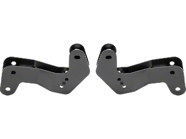 Rancho Geometry Correction Brackets for 2 to 4.50-Inch Lift (20-21 Jeep Gladiator JT)