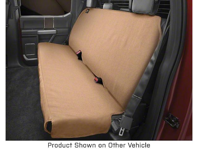 Weathertech Second Row Seat Protector; Tan (07-21 Jeep Wrangler JK & JL)