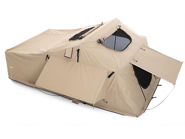 Smittybilt Overlander XL Roof Top Tent; Coyote Tan (Universal Fitment)