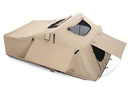 Smittybilt Overlander XL Roof Top Tent; Coyote Tan (Universal; Some Adaptation May Be Required)