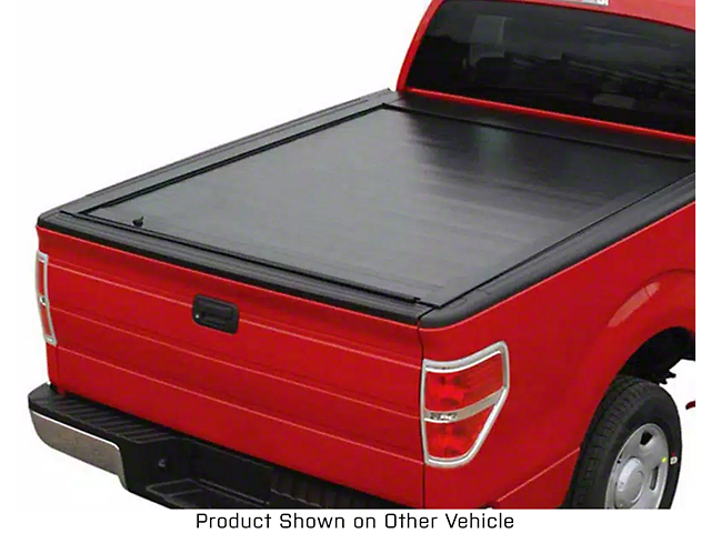 Pace Edwards JackRabbit Full Metal Retractable Bed Cover; Gloss Black (20-21 Jeep Gladiator JT)