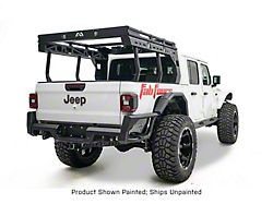 Fab Fours Overland Bed Rack; Bare Steel (20-22 Jeep Gladiator JT)
