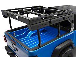 Fab Fours Overland Bed Rack; Matte Black (20-22 Jeep Gladiator JT)