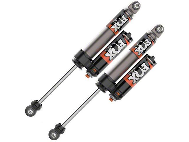 FOX Performance Elite Series 2.5 Adjustable Rear Reservoir Shocks for 0 to 1.50-Inch Lift (20-21 Jeep Gladiator JT)