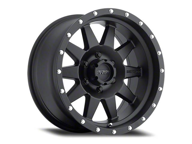 Method Race Wheels MR301 The Standard Matte Black Wheel; 20x10 (18-21 Jeep Wrangler JL)