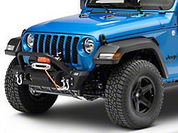 Fishbone Offroad Stubby Front Winch Bumper (20-22 Jeep Gladiator JT)