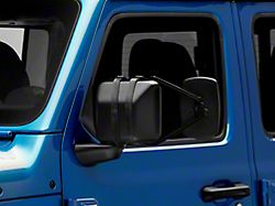RedRock 4x4 Extended View Towing Mirror (Universal; Some Adaptation May Be Required)