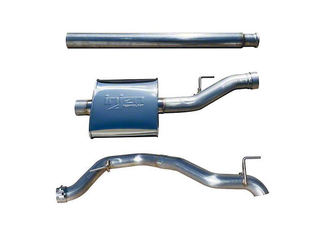 Injen High Tuck Single Exhaust System (20-21 3.6L Jeep Gladiator JT)