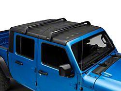 Rhino-Rack Vortex SG 2-Bar Roof Rack; Black (20-22 Jeep Gladiator JT)