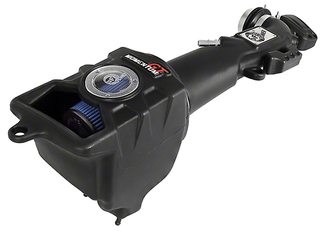 AFE Momentum GT Cold Air Intake with Pro 5R Oiled Filter; Black (20-21 3.6L Jeep Gladiator JT)