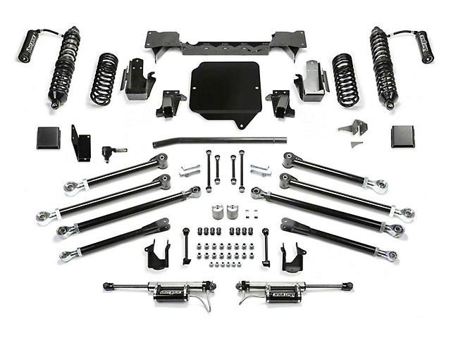 Fabtech 3-Inch Crawler Coil-Over Suspension Lift Kit with Dirt Logic Reservoir Shocks (20-21 3.6L Jeep Gladiator JT)